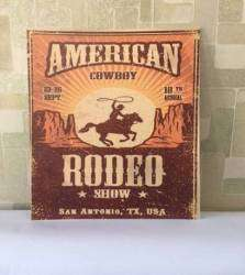 Poster American Rodeo Show