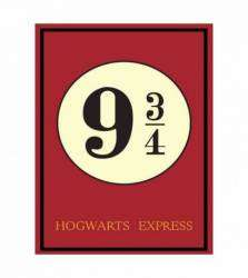 Pôster Hogwarts Express Harry Potter