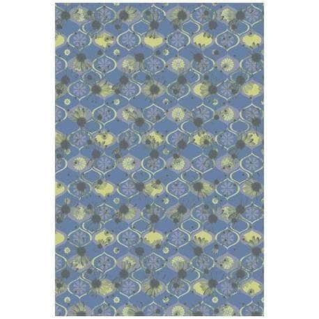 Papel de paredes abstrato Arabian Blue