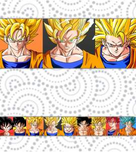 Faixa decorativa Dragon Ball