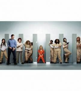 Painel Adesivo Orange Is the New Black - Personagens