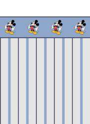Papel meia parede mickey