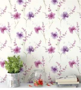Papel de Parede Delicado Dream Flowers